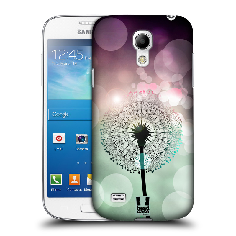 Plastové pouzdro na mobil Samsung Galaxy S4 Mini HEAD CASE Pampeliškové odlesky (Kryt či obal na mobilní telefon Samsung Galaxy S4 Mini GT-i9195 / i9190)