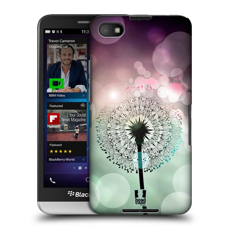 Plastové pouzdro na mobil Blackberry Z30 HEAD CASE Pampeliškové odlesky (Kryt či obal na mobilní telefon Blackberry Z30)