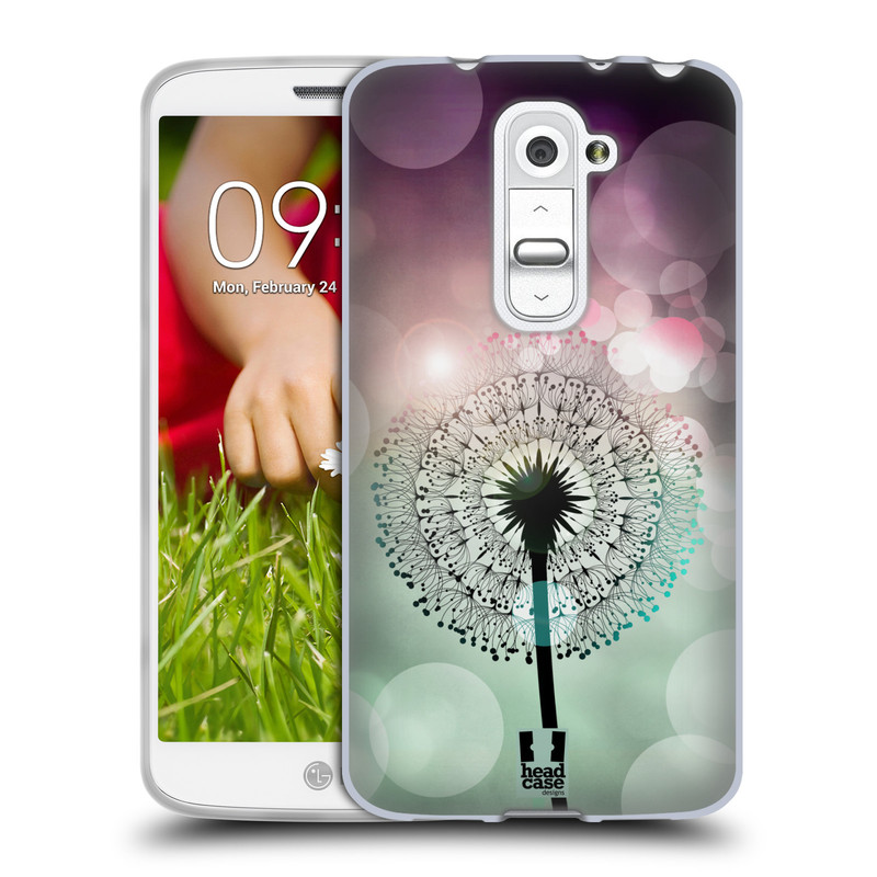 Silikonové pouzdro na mobil LG G2 Mini HEAD CASE Pampeliškové odlesky (Silikonový kryt či obal na mobilní telefon LG G2 Mini D620)