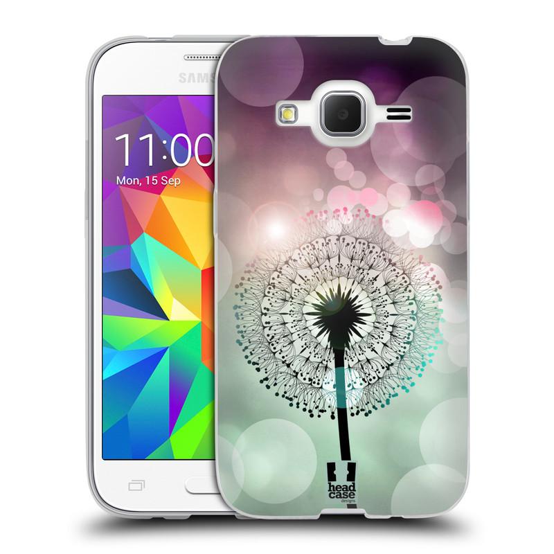 Silikonové pouzdro na mobil Samsung Galaxy Core Prime LTE HEAD CASE Pampeliškové odlesky (Silikonový kryt či obal na mobilní telefon Samsung Galaxy Core Prime LTE SM-G360)
