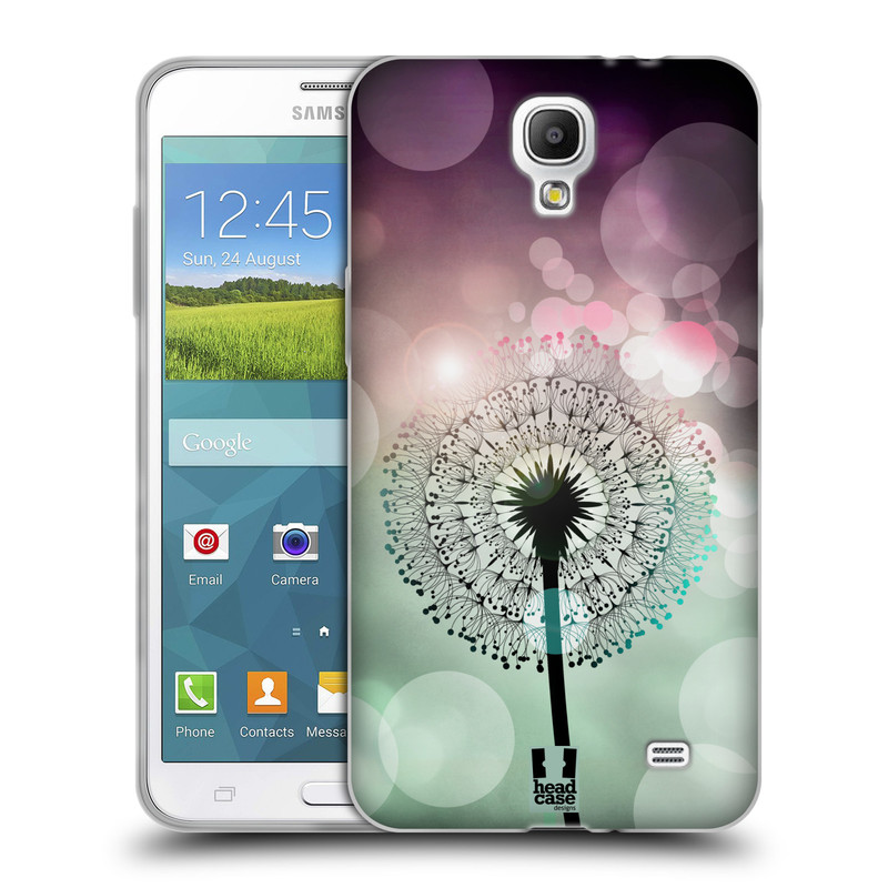 Silikonové pouzdro na mobil Samsung Galaxy Grand Mega 2 HEAD CASE Pampeliškové odlesky (Silikonový kryt či obal na mobilní telefon Samsung Galaxy Grand Mega 2 SM-G750)
