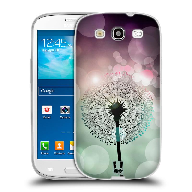 Silikonové pouzdro na mobil Samsung Galaxy S3 Neo HEAD CASE Pampeliškové odlesky (Silikonový kryt či obal na mobilní telefon Samsung Galaxy S3 Neo GT-i9301i)