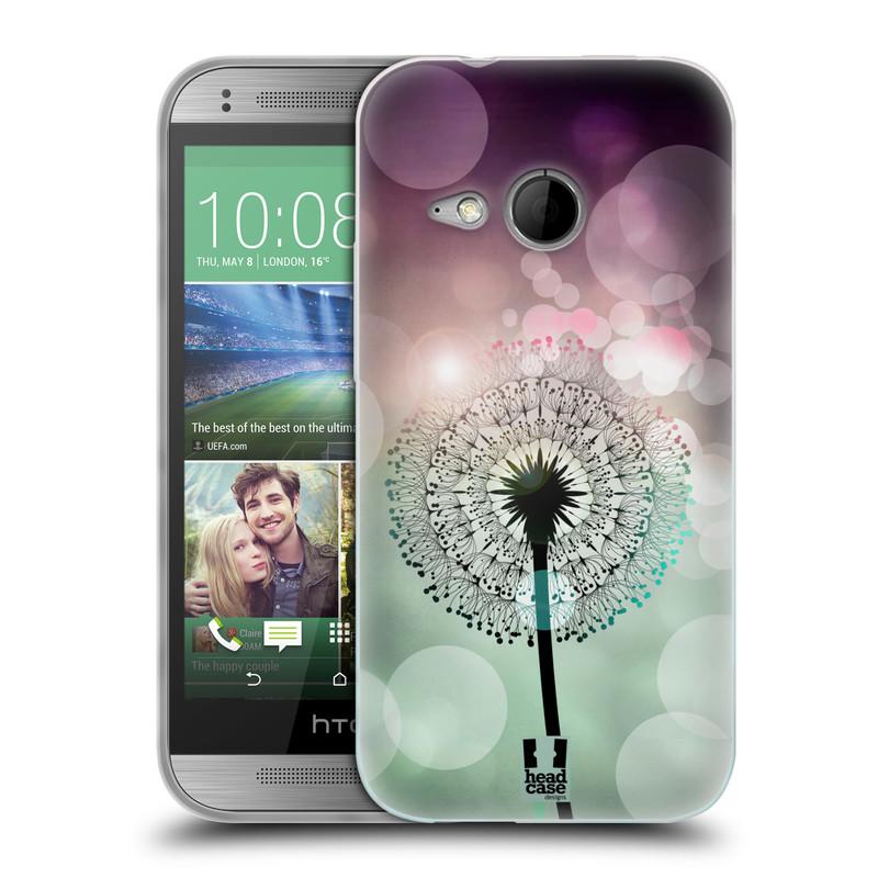 Silikonové pouzdro na mobil HTC ONE Mini 2 HEAD CASE Pampeliškové odlesky (Silikonový kryt či obal na mobilní telefon HTC ONE Mini 2)