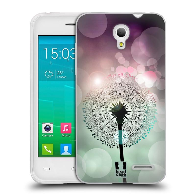 Silikonové pouzdro na mobil Alcatel One Touch Pop S3 HEAD CASE Pampeliškové odlesky (Silikonový kryt či obal na mobilní telefon Alcatel OT- 5050Y POP S3)