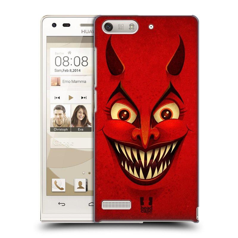 Plastové pouzdro na mobil Huawei Ascend G6 HEAD CASE ČERT (Kryt či obal na mobilní telefon Huawei Ascend G6 bez LTE)