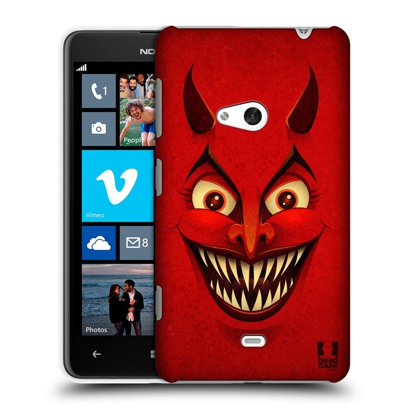 Plastové pouzdro na mobil Nokia Lumia 625 HEAD CASE ČERT (Kryt či obal na mobilní telefon Nokia Lumia 625)
