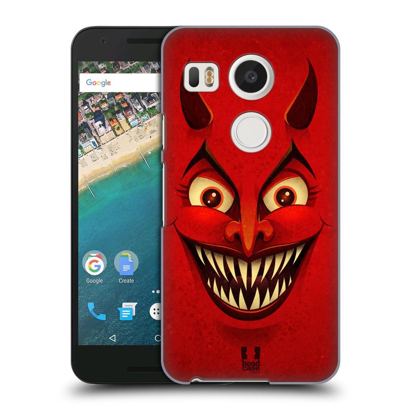 Plastové pouzdro na mobil LG Nexus 5X HEAD CASE ČERT (Kryt či obal na mobilní telefon LG NEXUS 5X H791)