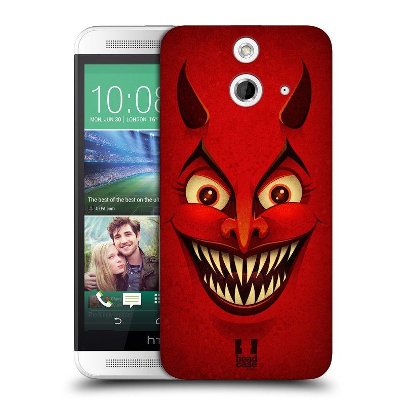 Plastové pouzdro na mobil HTC ONE E8 HEAD CASE ČERT (Kryt či obal na mobilní telefon HTC ONE E8)