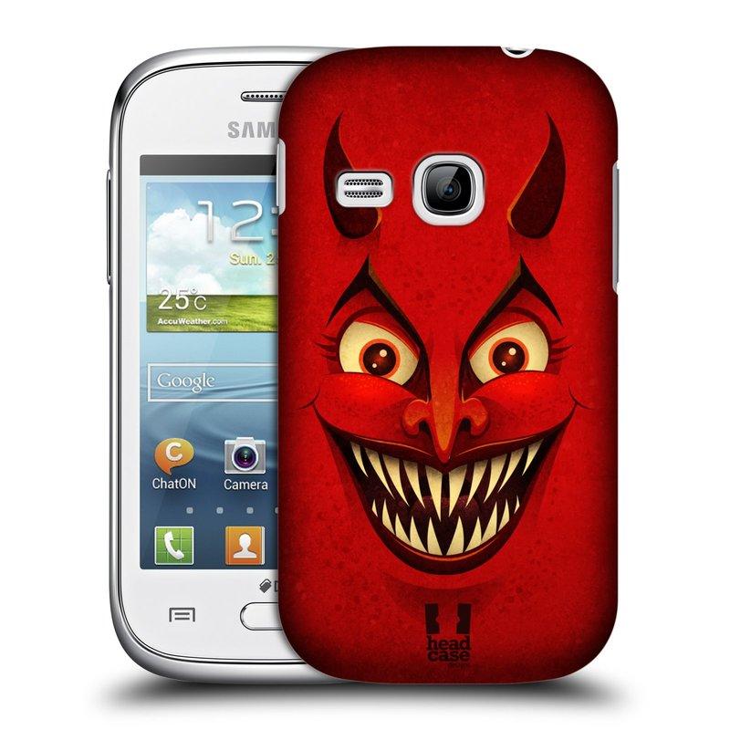Plastové pouzdro na mobil Samsung Galaxy Young HEAD CASE ČERT (Kryt či obal na mobilní telefon Samsung Galaxy Young GT-S6310)