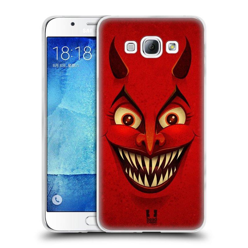 Silikonové pouzdro na mobil Samsung Galaxy A8 HEAD CASE ČERT (Silikonový kryt či obal na mobilní telefon Samsung Galaxy A8 SM-A800)