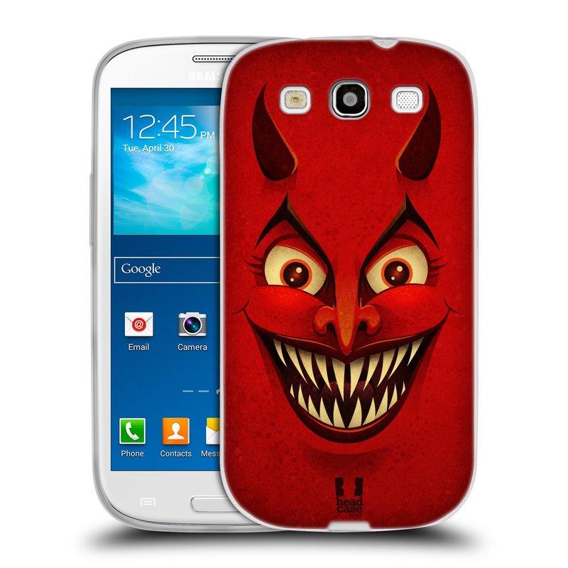 Silikonové pouzdro na mobil Samsung Galaxy S3 Neo HEAD CASE ČERT (Silikonový kryt či obal na mobilní telefon Samsung Galaxy S3 Neo GT-i9301i)