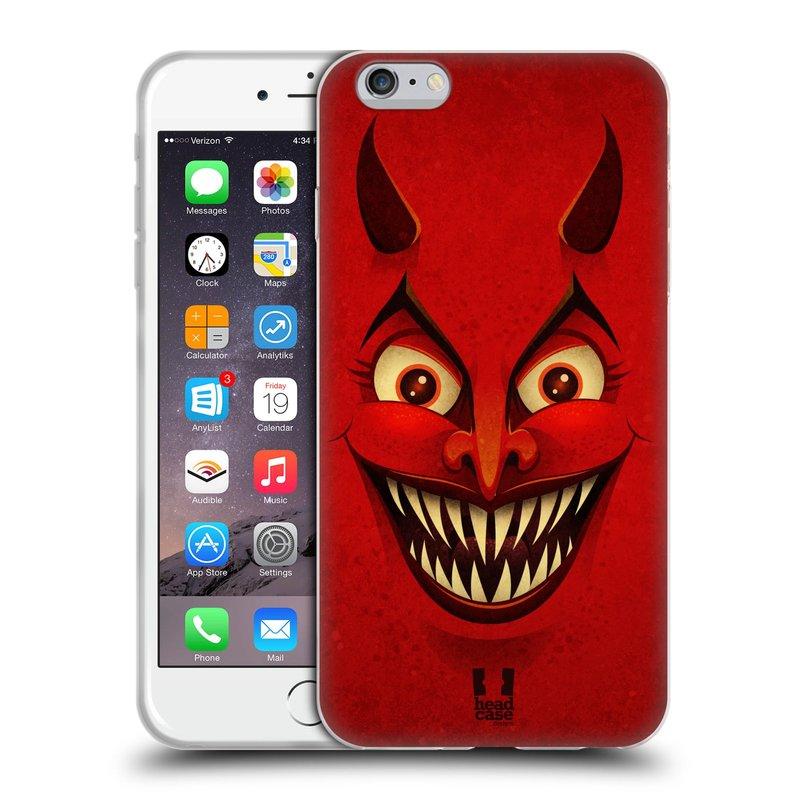 Silikonové pouzdro na mobil Apple iPhone 6 Plus a 6S Plus HEAD CASE ČERT (Silikonový kryt či obal na mobilní telefon Apple iPhone 6 Plus a 6S Plus)