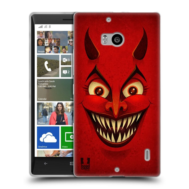 Silikonové pouzdro na mobil Nokia Lumia 930 HEAD CASE ČERT (Silikonový kryt či obal na mobilní telefon Nokia Lumia 930)