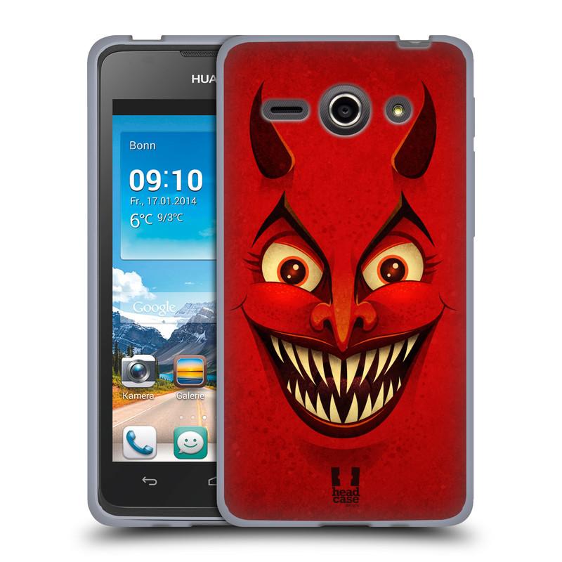 Silikonové pouzdro na mobil Huawei Ascend Y530 HEAD CASE ČERT (Silikonový kryt či obal na mobilní telefon Huawei Ascend Y530)