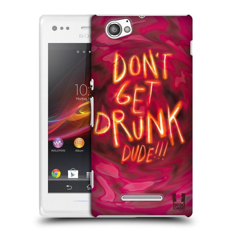 Plastové pouzdro na mobil Sony Xperia M C1905 HEAD CASE NEOPIJ SE (Kryt či obal na mobilní telefon Sony Xperia M a M Dual)