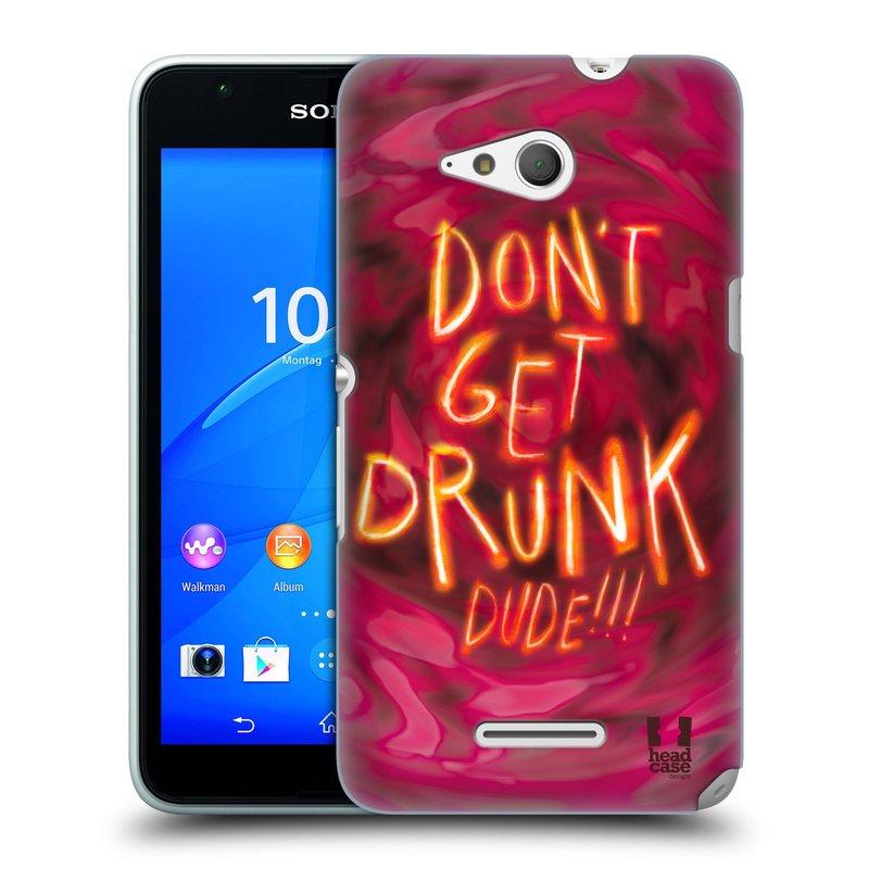 Plastové pouzdro na mobil Sony Xperia E4g E2003 HEAD CASE NEOPIJ SE (Kryt či obal na mobilní telefon Sony Xperia E4g a E4g Dual SIM)