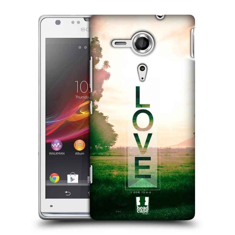 Plastové pouzdro na mobil Sony Xperia SP C5303 HEAD CASE Láska (Kryt či obal na mobilní telefon Sony Xperia SP )