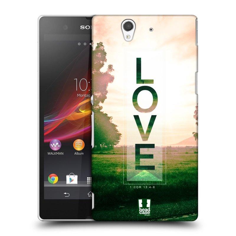 Plastové pouzdro na mobil Sony Xperia Z C6603 HEAD CASE Láska (Kryt či obal na mobilní telefon Sony Xperia Z )