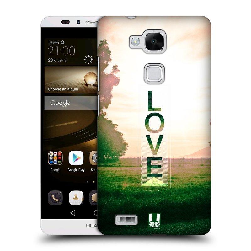 Plastové pouzdro na mobil Huawei Ascend Mate 7 HEAD CASE Láska (Kryt či obal na mobilní telefon Huawei Ascend Mate7)