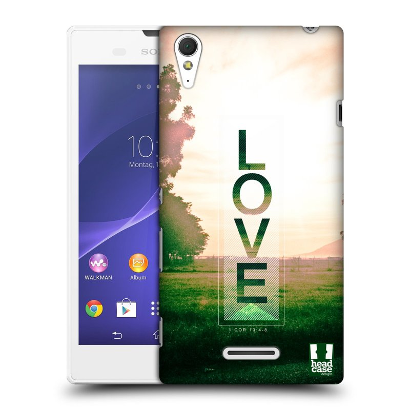Plastové pouzdro na mobil Sony Xperia T3 D5103 HEAD CASE Láska (Kryt či obal na mobilní telefon Sony Xperia T3 )