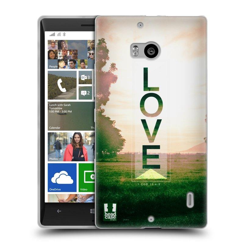 Silikonové pouzdro na mobil Nokia Lumia 930 HEAD CASE Láska (Silikonový kryt či obal na mobilní telefon Nokia Lumia 930)
