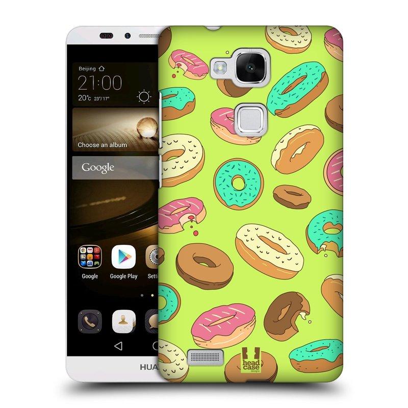 Plastové pouzdro na mobil Huawei Ascend Mate 7 HEAD CASE DONUTKY (Kryt či obal na mobilní telefon Huawei Ascend Mate7)