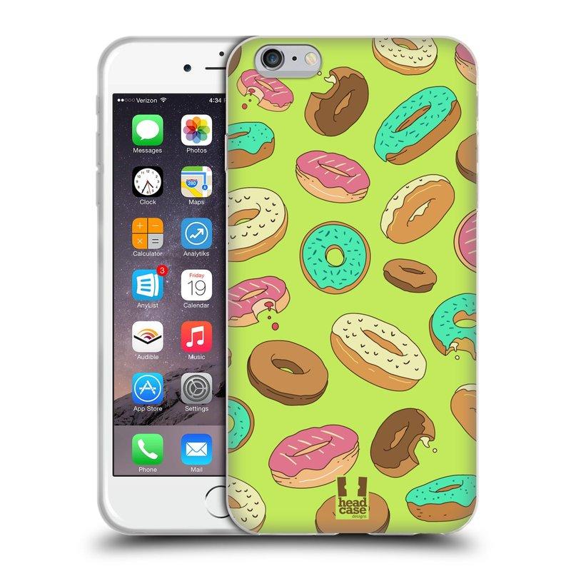 Silikonové pouzdro na mobil Apple iPhone 6 Plus a 6S Plus HEAD CASE DONUTKY (Silikonový kryt či obal na mobilní telefon Apple iPhone 6 Plus a 6S Plus)