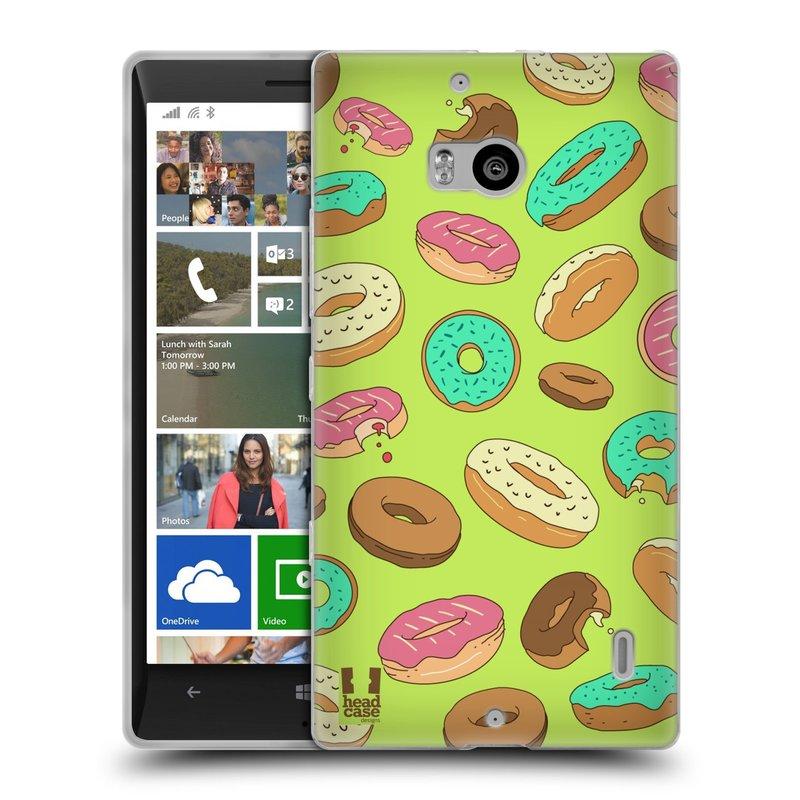 Silikonové pouzdro na mobil Nokia Lumia 930 HEAD CASE DONUTKY (Silikonový kryt či obal na mobilní telefon Nokia Lumia 930)