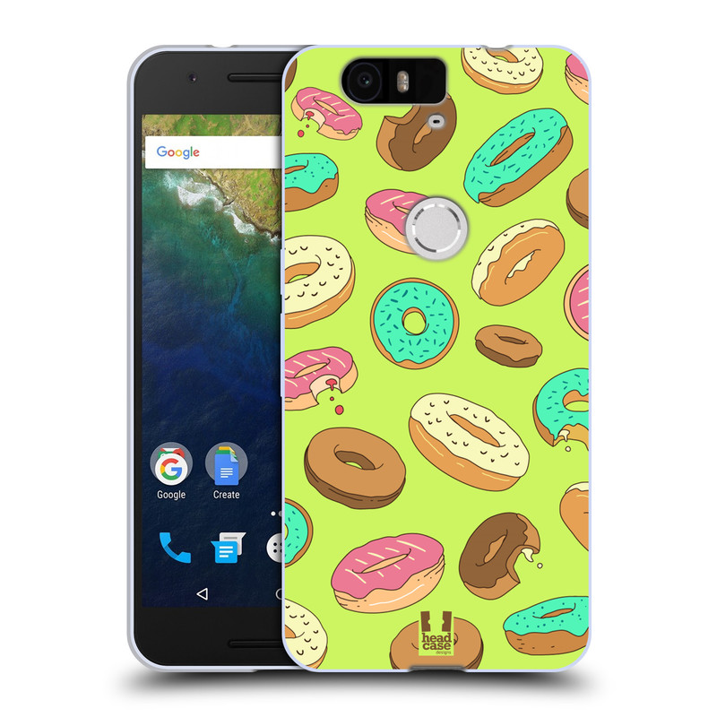Silikonové pouzdro na mobil Huawei Nexus 6P HEAD CASE DONUTKY (Silikonový kryt či obal na mobilní telefon Huawei Nexus 6P)