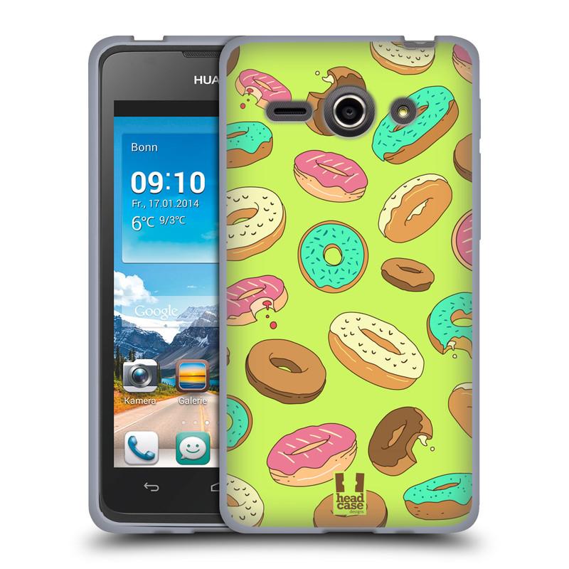 Silikonové pouzdro na mobil Huawei Ascend Y530 HEAD CASE DONUTKY (Silikonový kryt či obal na mobilní telefon Huawei Ascend Y530)