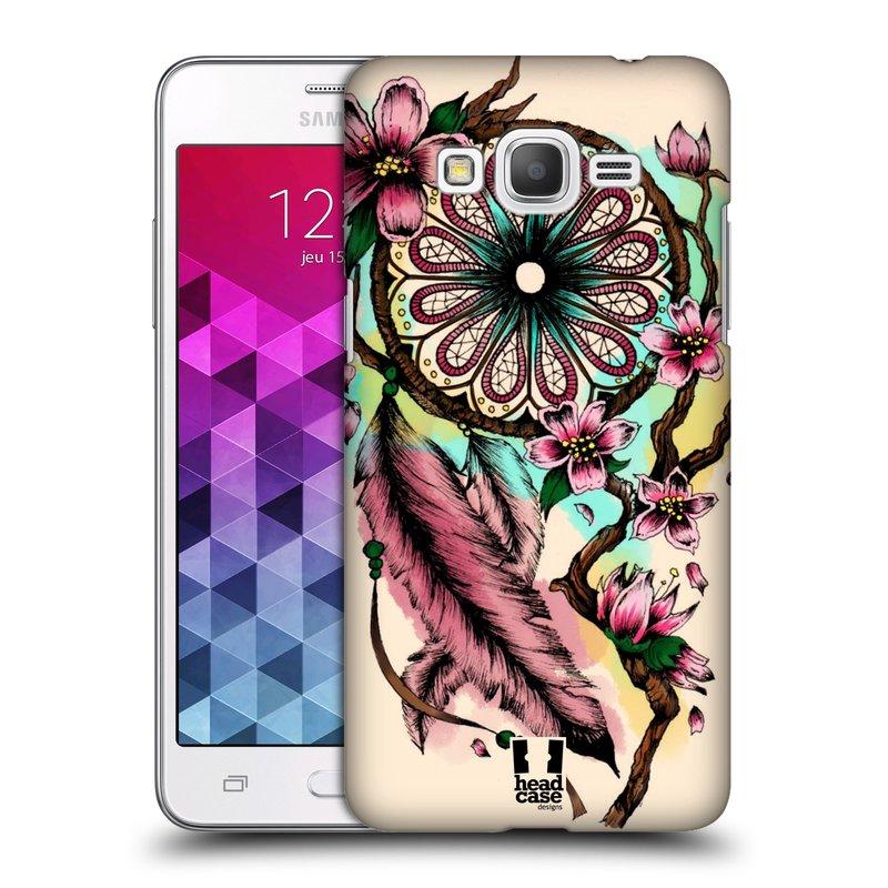 Plastové pouzdro na mobil Samsung Galaxy Grand Prime HEAD CASE BLOOM BLOSSOMS (Kryt či obal na mobilní telefon Samsung Galaxy Grand Prime SM-G530)