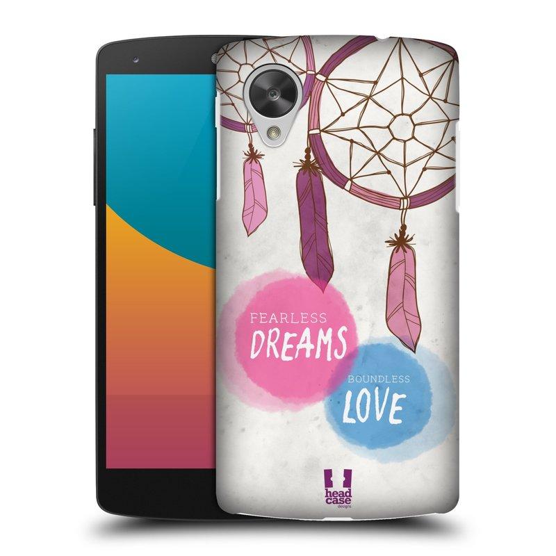 Plastové pouzdro na mobil LG Nexus 5 HEAD CASE LAPAČ FEARLESS (Kryt či obal na mobilní telefon LG Google Nexus 5 D821)