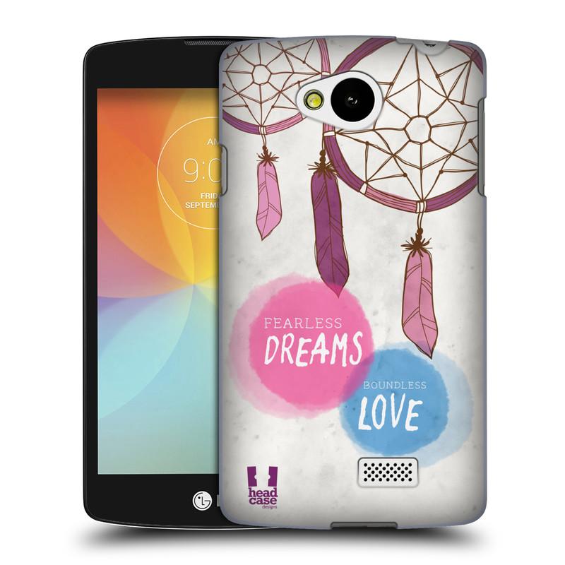 Plastové pouzdro na mobil LG F60 HEAD CASE LAPAČ FEARLESS (Kryt či obal na mobilní telefon LG F60 D390n)