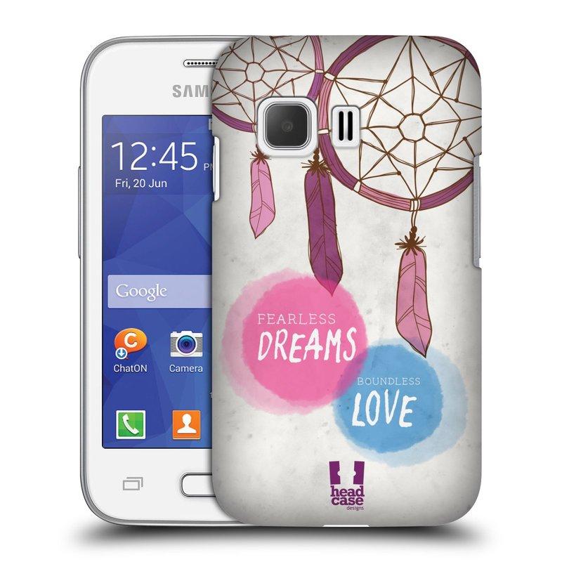 Plastové pouzdro na mobil Samsung Galaxy Young 2 HEAD CASE LAPAČ FEARLESS (Kryt či obal na mobilní telefon Samsung Galaxy Young 2 SM-G130)