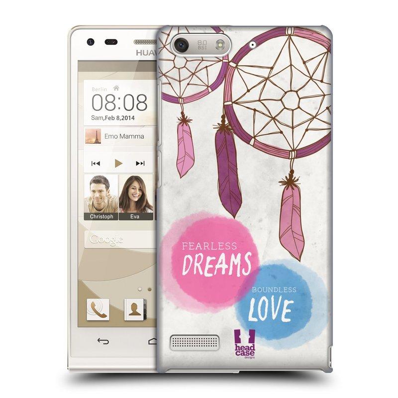 Plastové pouzdro na mobil Huawei Ascend G6 HEAD CASE LAPAČ FEARLESS (Kryt či obal na mobilní telefon Huawei Ascend G6 bez LTE)