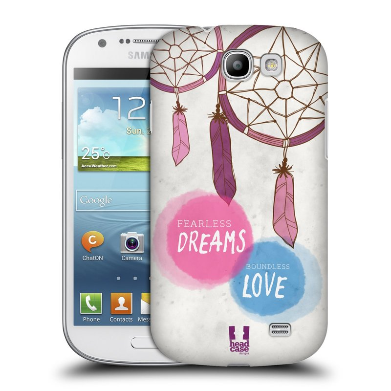 Plastové pouzdro na mobil Samsung Galaxy Express HEAD CASE LAPAČ FEARLESS (Kryt či obal na mobilní telefon Samsung Galaxy Express GT-i8730)