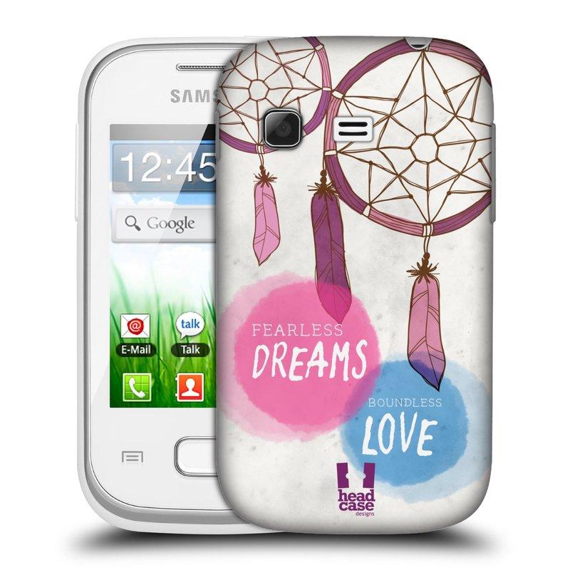 Plastové pouzdro na mobil Samsung Galaxy Pocket HEAD CASE LAPAČ FEARLESS (Kryt či obal na mobilní telefon Samsung Galaxy Pocket GT-S5300)