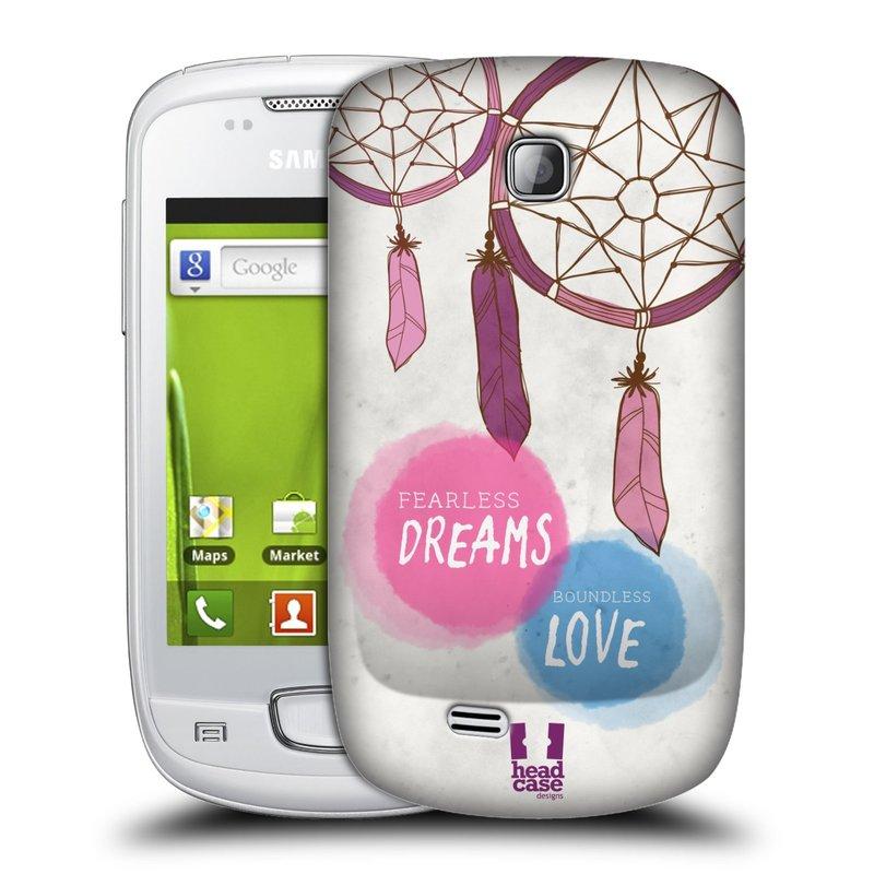 Plastové pouzdro na mobil Samsung Galaxy Mini HEAD CASE LAPAČ FEARLESS (Kryt či obal na mobilní telefon Samsung Galaxy Mini GT-S5570 / GT-S5570i)