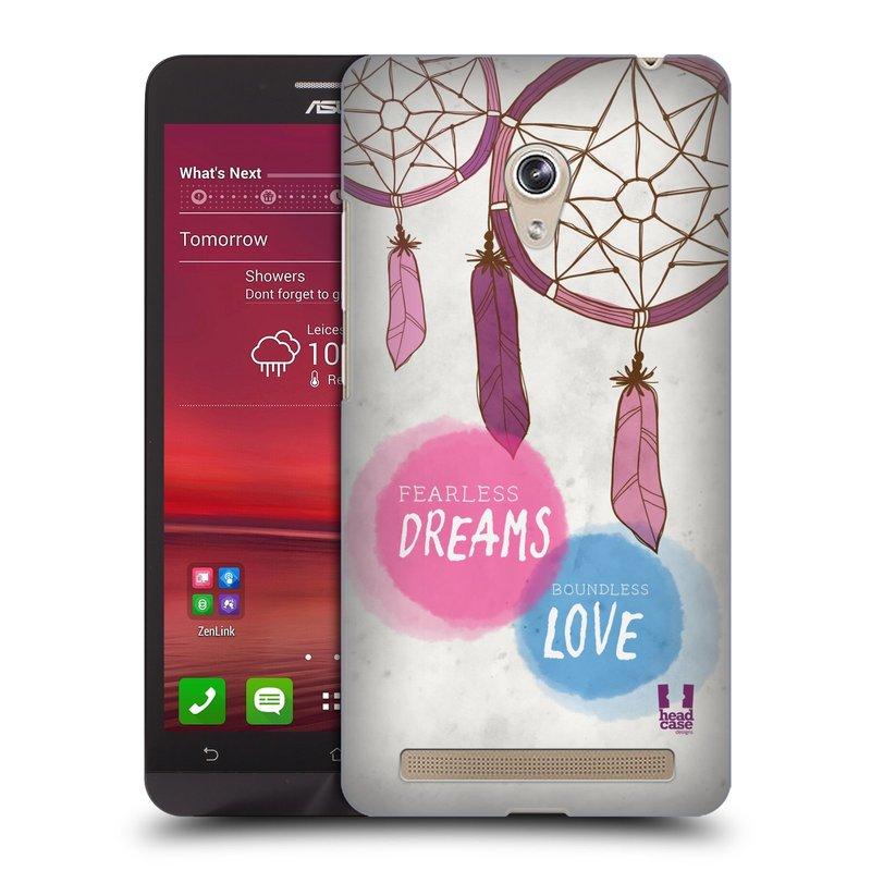 Plastové pouzdro na mobil Asus Zenfone 6 HEAD CASE LAPAČ FEARLESS (Kryt či obal na mobilní telefon Asus Zenfone 6 A600CG / A601CG)