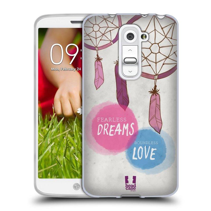 Silikonové pouzdro na mobil LG G2 Mini HEAD CASE LAPAČ FEARLESS (Silikonový kryt či obal na mobilní telefon LG G2 Mini D620)