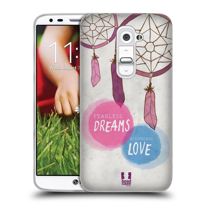 Silikonové pouzdro na mobil LG G2 HEAD CASE LAPAČ FEARLESS (Silikonový kryt či obal na mobilní telefon LG G2 D802)