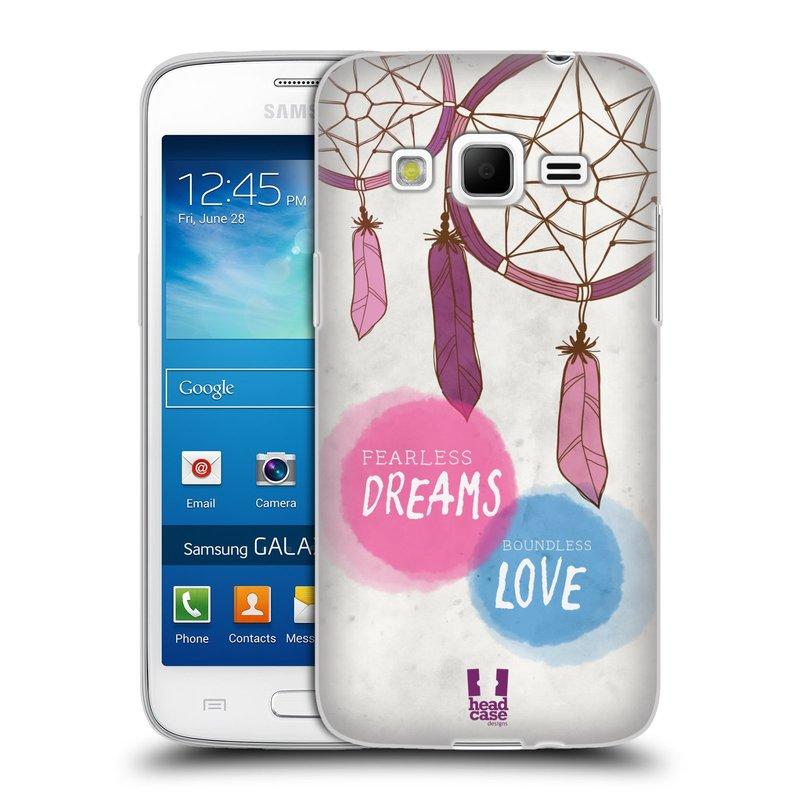 Silikonové pouzdro na mobil Samsung Galaxy Express 2 HEAD CASE LAPAČ FEARLESS (Silikonový kryt či obal na mobilní telefon Samsung Galaxy Express 2 SM-G3815)