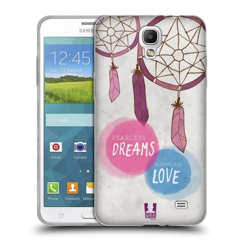 Silikonové pouzdro na mobil Samsung Galaxy Grand Mega 2 HEAD CASE LAPAČ FEARLESS (Silikonový kryt či obal na mobilní telefon Samsung Galaxy Grand Mega 2 SM-G750)