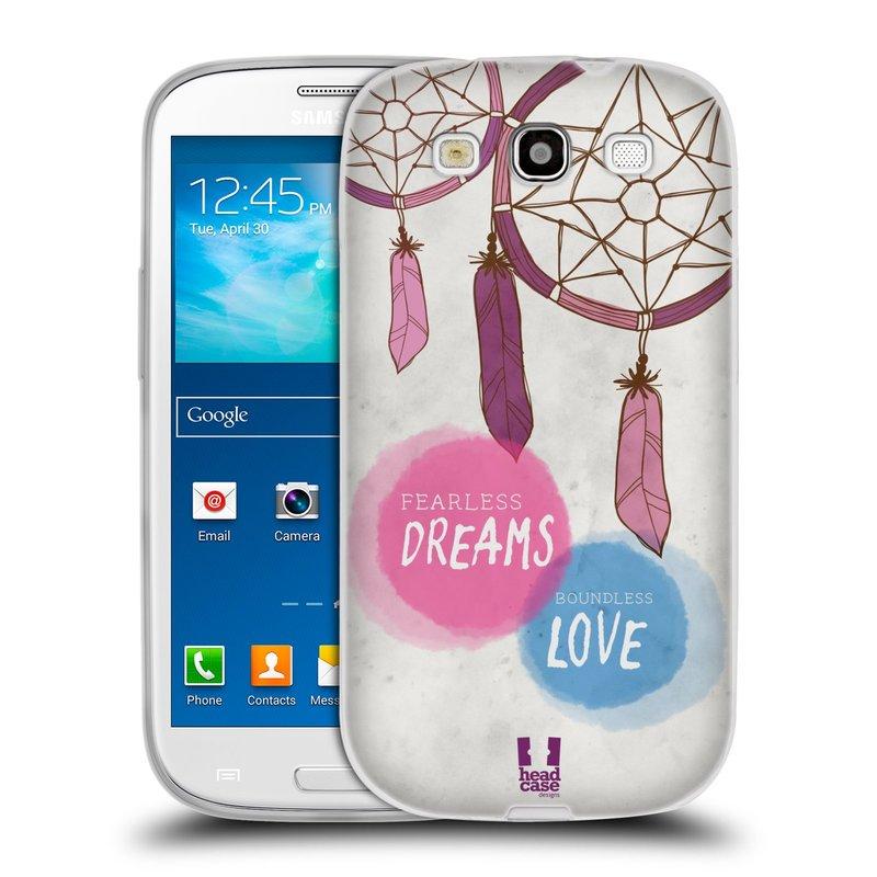 Silikonové pouzdro na mobil Samsung Galaxy S3 Neo HEAD CASE LAPAČ FEARLESS (Silikonový kryt či obal na mobilní telefon Samsung Galaxy S3 Neo GT-i9301i)