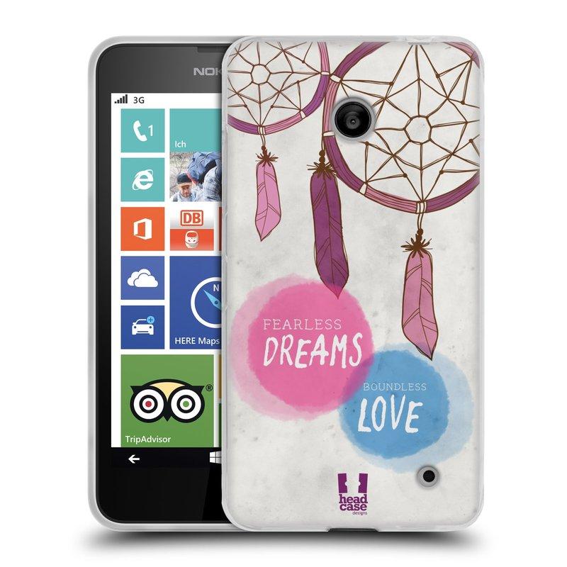 Silikonové pouzdro na mobil Nokia Lumia 630 HEAD CASE LAPAČ FEARLESS (Silikonový kryt či obal na mobilní telefon Nokia Lumia 630 a Nokia Lumia 630 Dual SIM)
