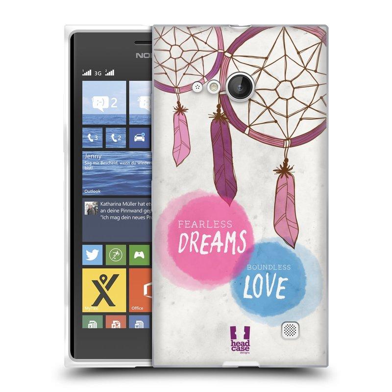 Silikonové pouzdro na mobil Nokia Lumia 730 Dual SIM HEAD CASE LAPAČ FEARLESS (Silikonový kryt či obal na mobilní telefon Nokia Lumia 730 Dual SIM)