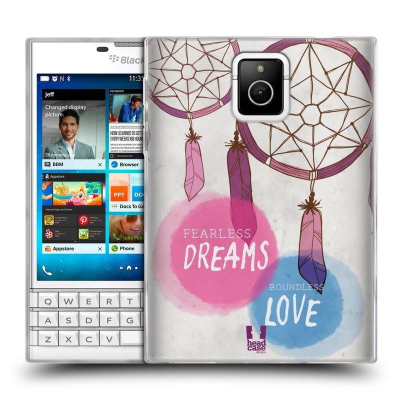 Silikonové pouzdro na mobil Blackberry PASSPORT HEAD CASE LAPAČ FEARLESS (Silikonový kryt či obal na mobilní telefon Blackberry PASSPORT)