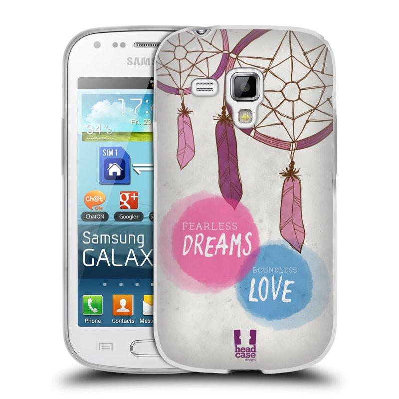 Silikonové pouzdro na mobil Samsung Galaxy S Duos 2 HEAD CASE LAPAČ FEARLESS (Silikonový kryt či obal na mobilní telefon Samsung Galaxy S Duos 2 GT-S7582)