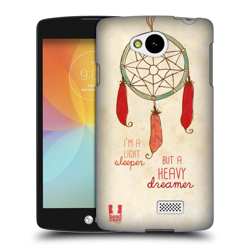 Plastové pouzdro na mobil LG F60 HEAD CASE LAPAČ HEAVY DREAMER (Kryt či obal na mobilní telefon LG F60 D390n)