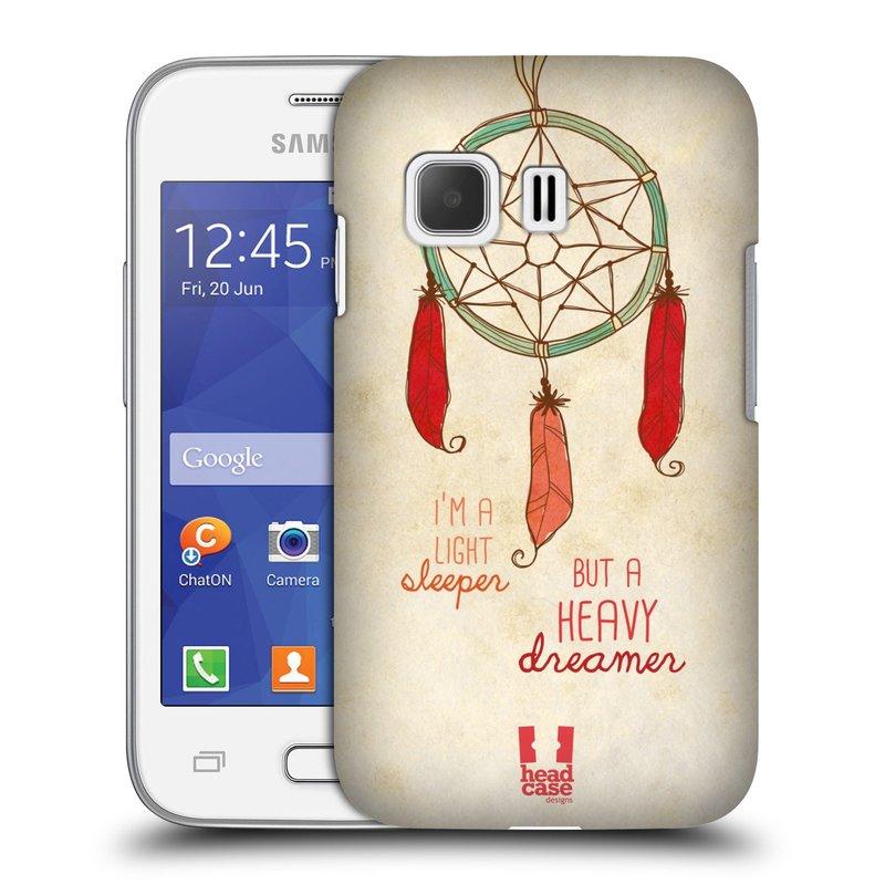 Plastové pouzdro na mobil Samsung Galaxy Young 2 HEAD CASE LAPAČ HEAVY DREAMER (Kryt či obal na mobilní telefon Samsung Galaxy Young 2 SM-G130)